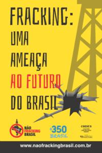 Banner Uma Ameaça Amarelo 0,80X1,2