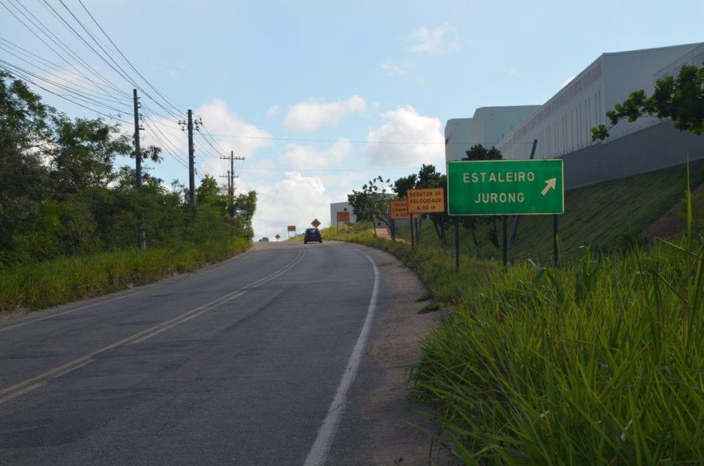 Astillero Jurong Aracruz en Espíritu Santo - Foto: Paulo S. Lima