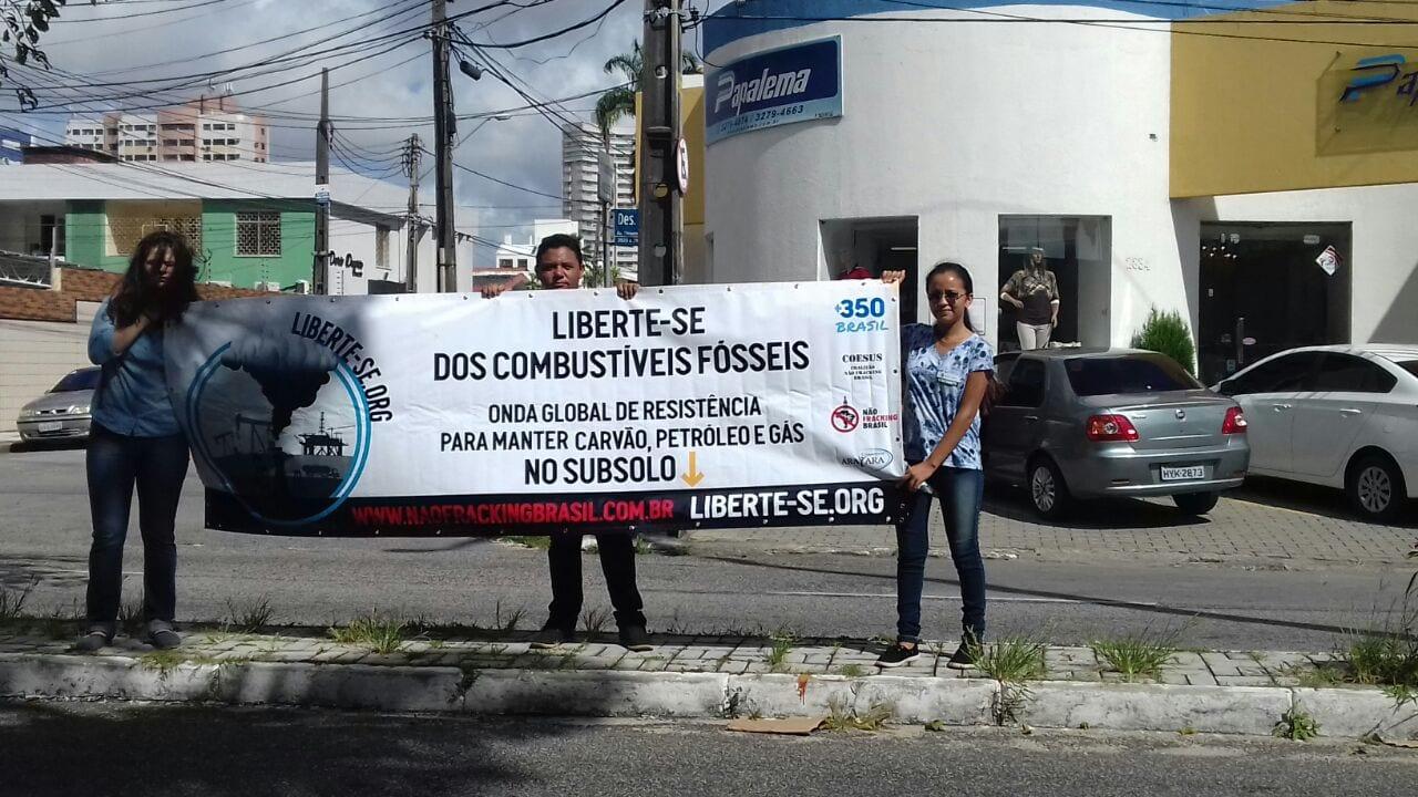 """LIBERTE-SE: """"Petróleo, gás e carvão, é prá deixar no chão!"""""""