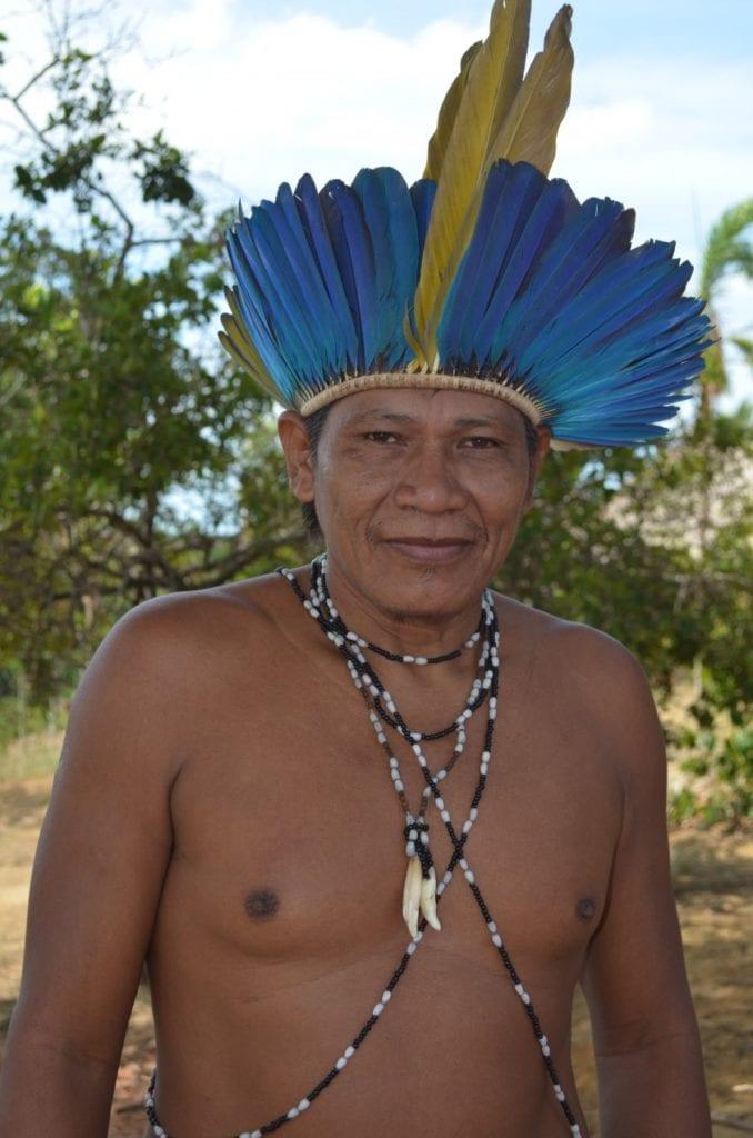 Cacique Nelson Guarani - Foto: Paulo S. Lima