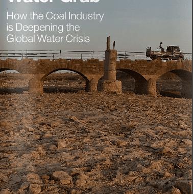 Usinas de carvão usam a mesma quantidade de água necessária para satisfazer 1 bi de pessoas