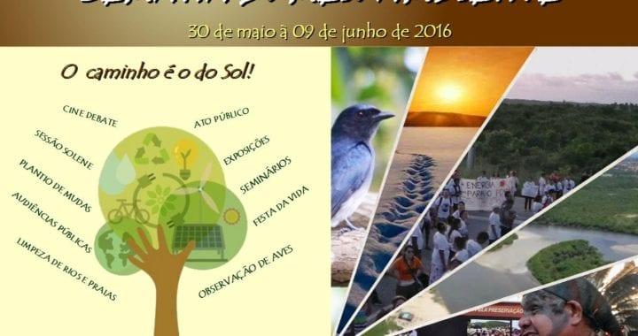 No Ceará, Semana do Meio Ambiente terá ações contra o FRACKING