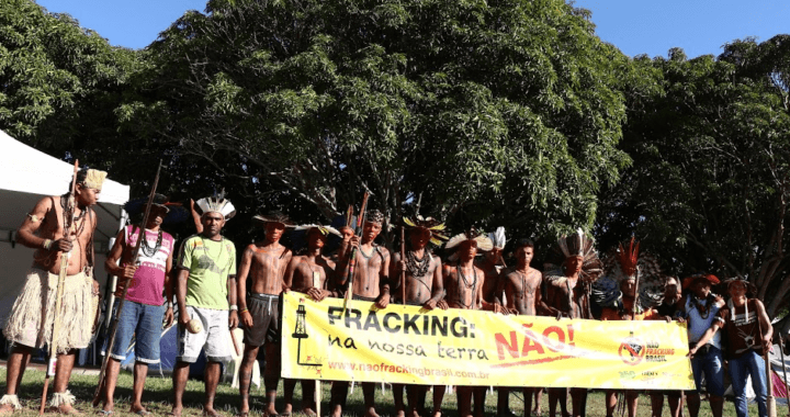 Povos indígenas reunidos em Brasília debatem impactos do FRACKING