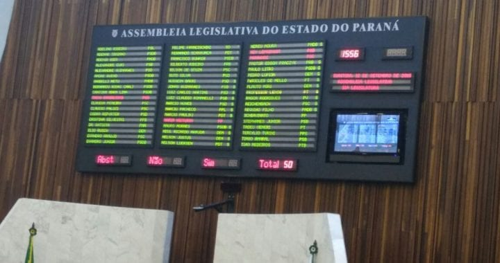 Assembleia Legislativa dá primeiro passo para proibir o FRACKING no Paraná