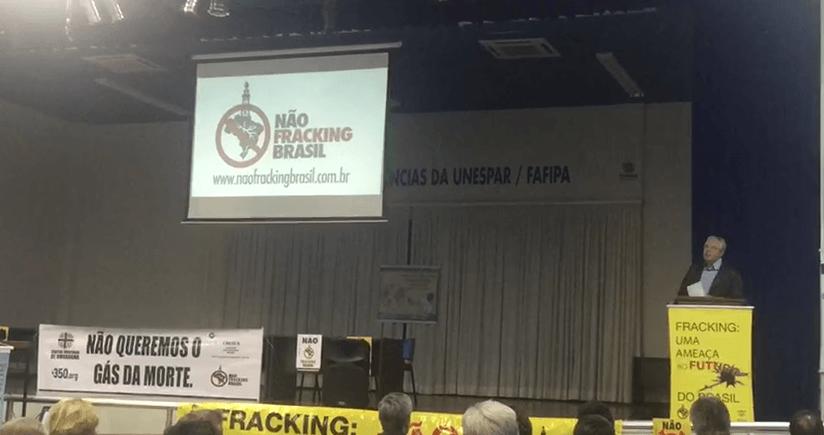 Frente contra o FRACKING avança no Paraná