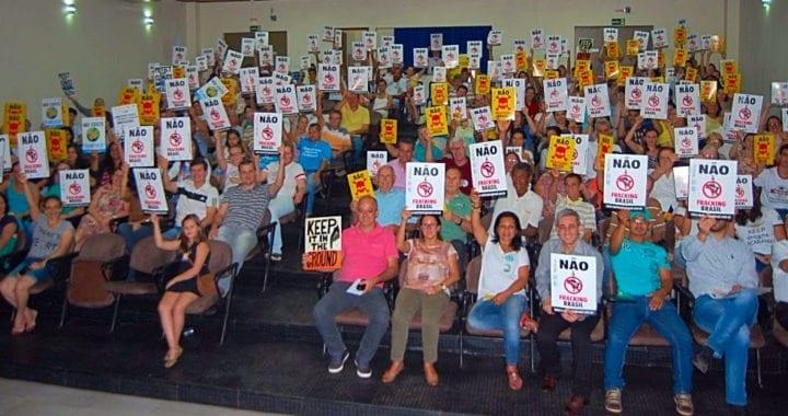Mais cidades brasileiras resistem à ameaça do FRACKING