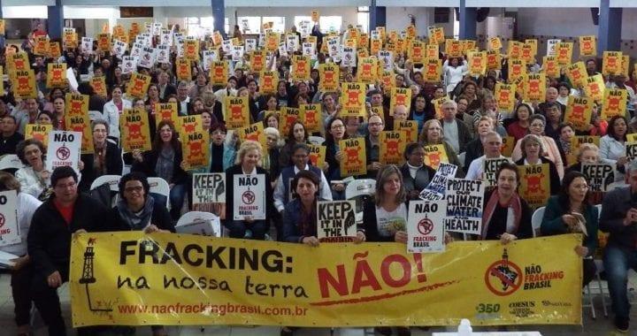 2017 será o ano em que vamos banir o fracking no Brasil