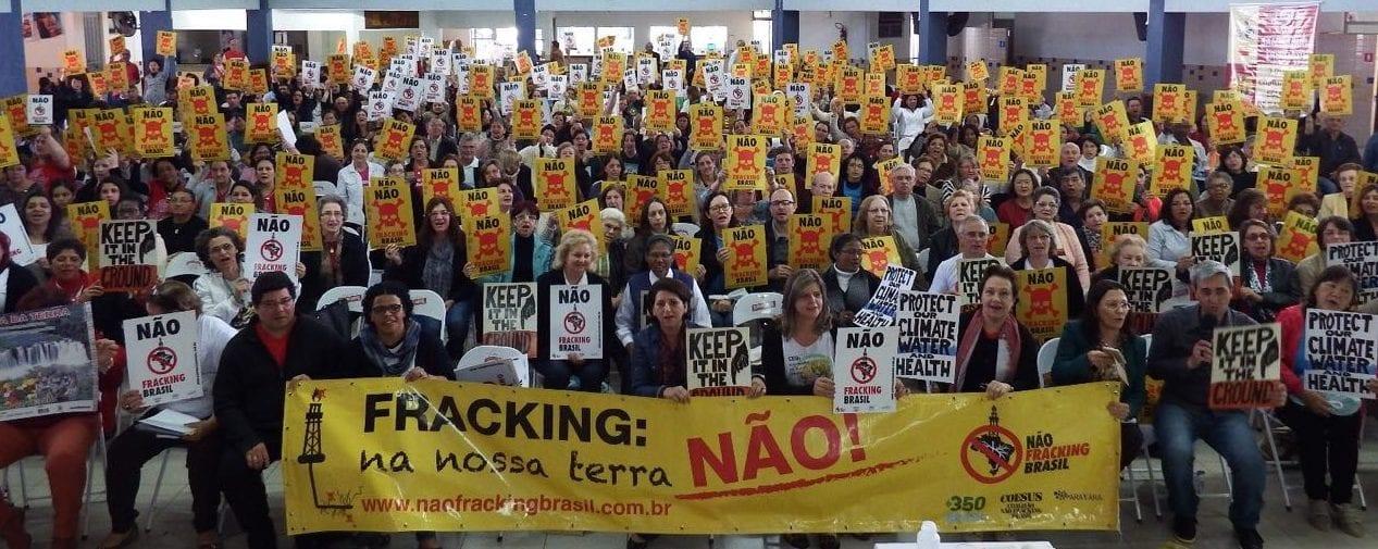Fracking bate à porta