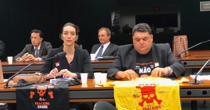Câmara dos Deputados debate riscos do fracking