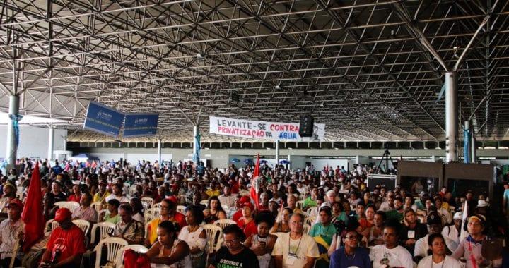Fórum Alternativo encerra atividades no Dia Mundial da Água