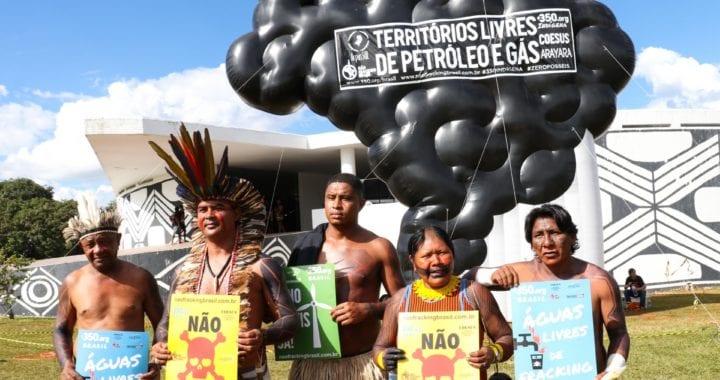 Acampamento Terra Livre 2018 reúne mais de 3 mil indígenas em Brasília