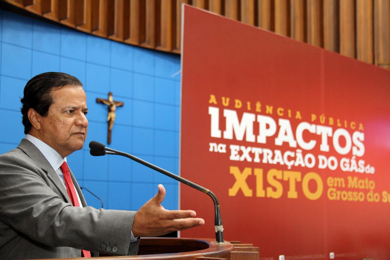 'Fracking no Mato Grosso do Sul, não!'