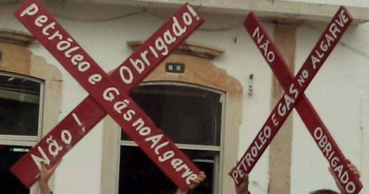 Protestos contra exploração de petróleo no Algarve continuam