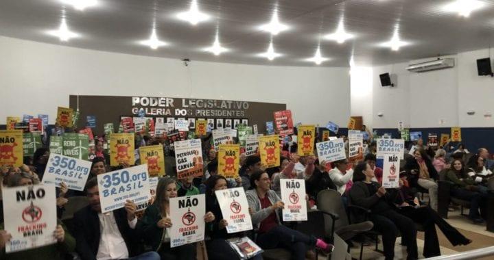Campanha contra o fracking ganha força no Mato Grosso do Sul