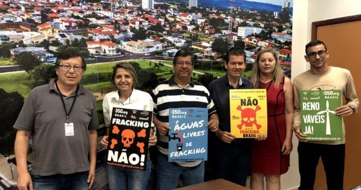 Campanha Não Fracking Brasil expande conscientização de agentes públicos no Mato Grosso do Sul e Goiás