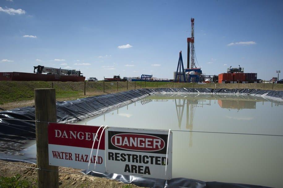 Poços de Fracking