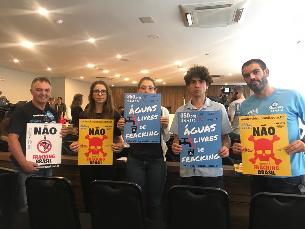 Projeto de lei que proíbe fracking no Paraná é aprovado na CCJ