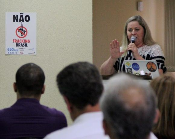 Experiências de mobilização contra o fracking são tema de palestra em Regente Feijó (SP)