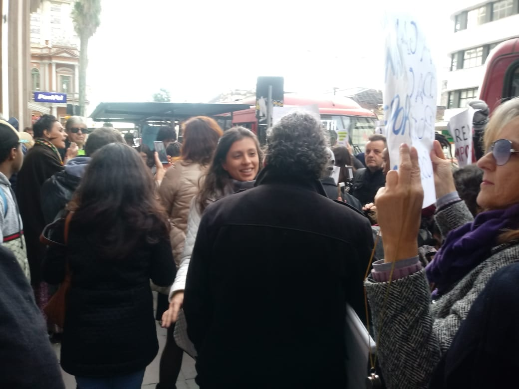 Manifestação Fepam