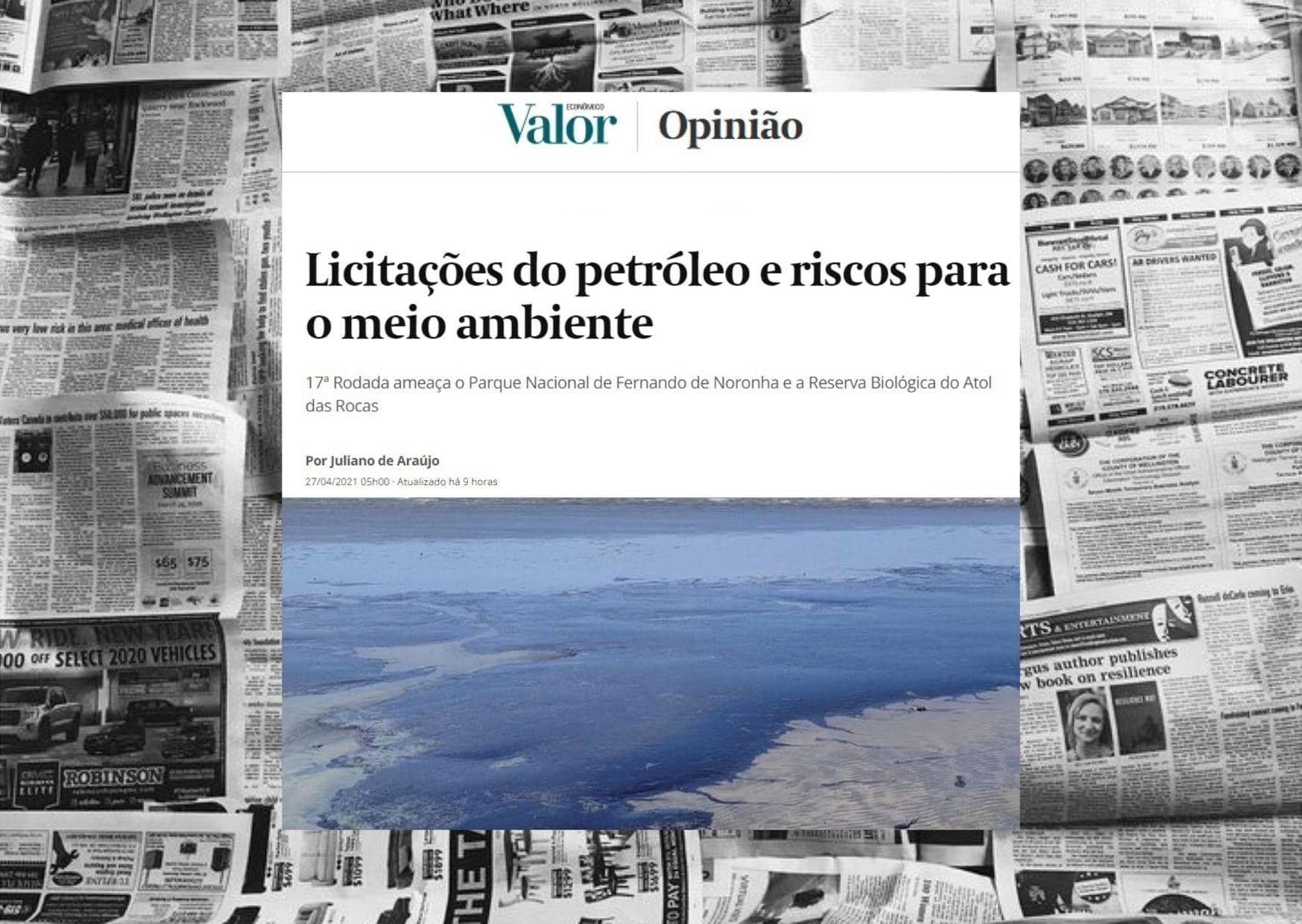 Artigo Valor Econômico